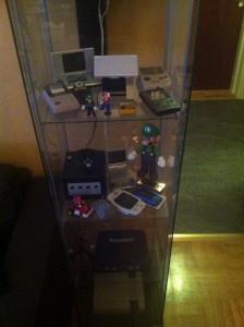 Ett gäng prylar från Nintendo