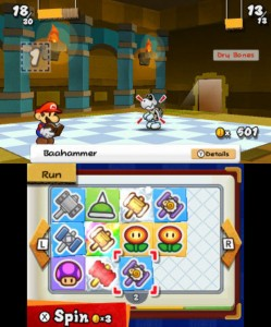 Stridssystemet i Paper Mario