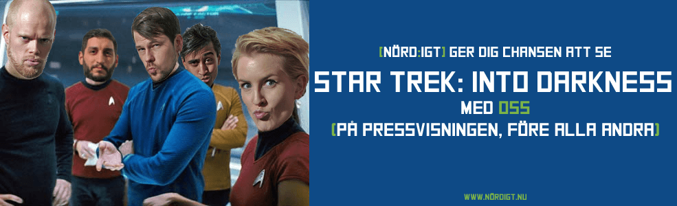 Star Trek: Into Darkness-tävling