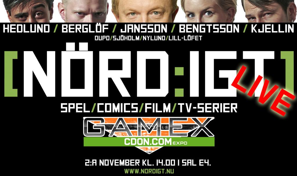 [NÖRD:IGT] på GAMEX 2013