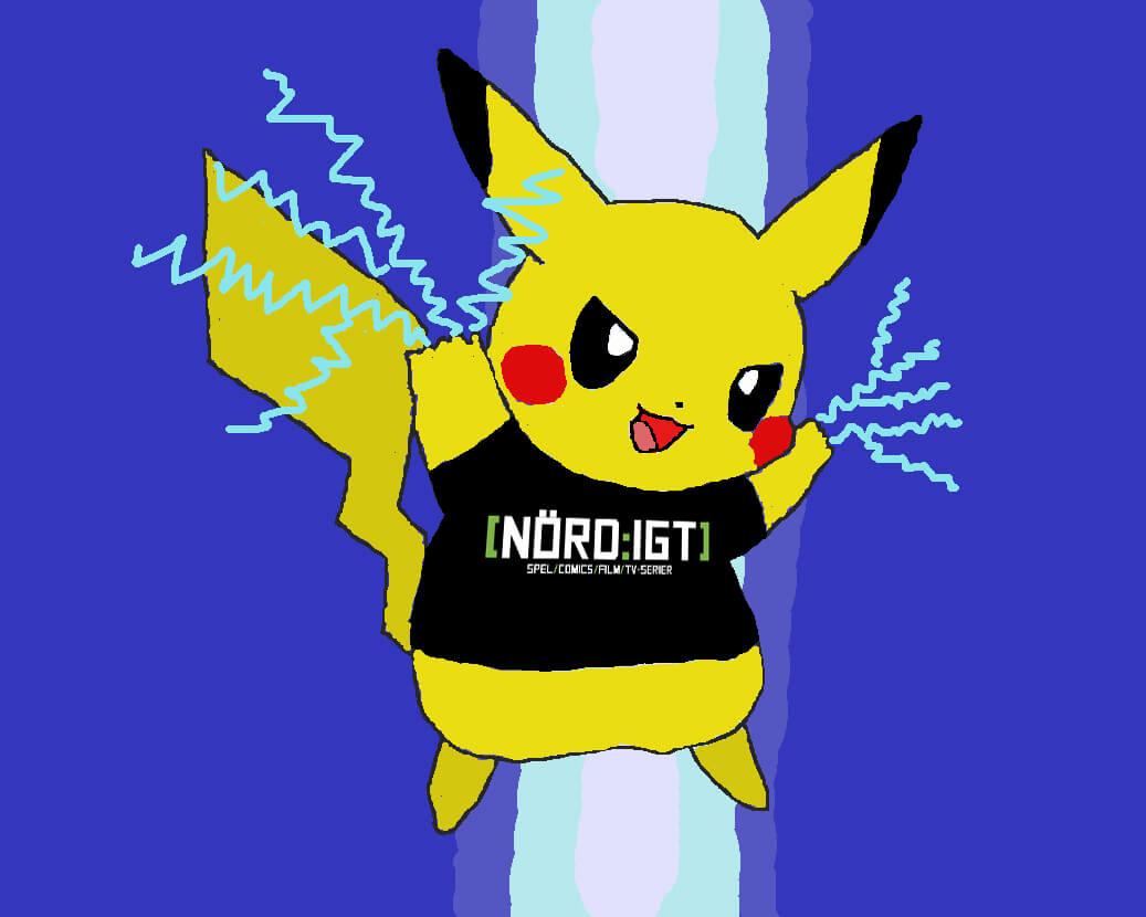 Nördigt-Pikachu